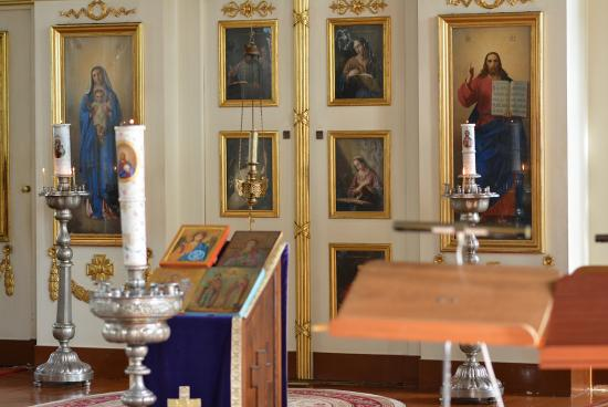 Turku - sisäkuva Ortodoksisesta kirkosta