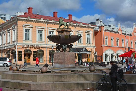 Turku - katunäkymä 2