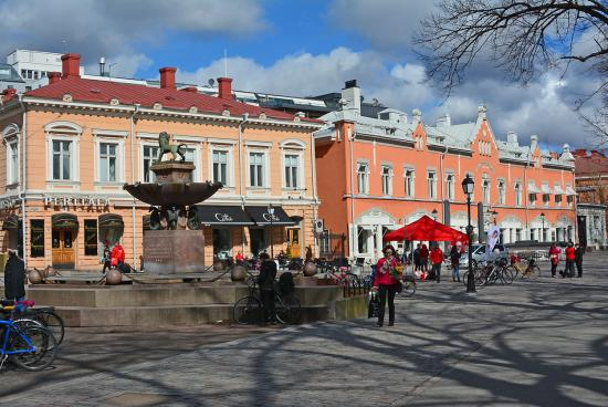 Turku - katunäkymä 1